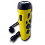4 n 1 Dynamo 3 LED Flashlight w/ phone charger