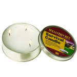 The Survival Candle Burns 36 Hours