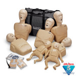 CPR Prompt Brand 7-Pack Manikins - Tan - FREE SHIPPING