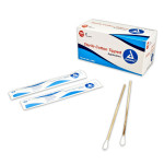"Cotton tipped applicator, Sterile 6"", 200 per box"
