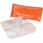 MDI Microshield Faceshield, Orange Pouch