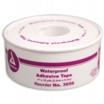 "1""x10 yd. Waterproof tape, plastic spool, 1 ea."