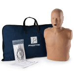 Prestan Adult Dark Skin CPR-AED Training Manikin without CPR Monitor