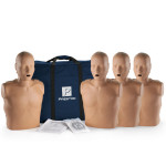 Prestan Adult Dark Skin CPR-AED Training Manikin without CPR Monitor - 4 Pack