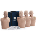 Prestan Child CPR-AED Training Manikin w/ Monitor 4-Pack - Medium Skin