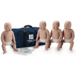 Prestan Infant CPR / AED Manikin 4-Pack without Monitor - Medium Skin