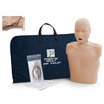 Prestan Adult Jaw Thrust CPR Manikin w/ Monitor - Medium Skin