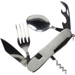 Knife/ Fork / Spoon Combo Utility Tool with Can & Bottle Opener