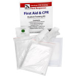 CPR & First Aid Student Training Kit, 8 Pieces