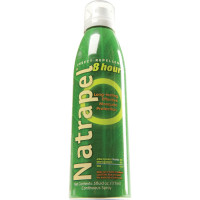 DEET free with CDC recommended Picaridin, the Natrapel 8-hour 6oz Continuous Spray features a fine mist spray application without harmful and hazardous aerosol