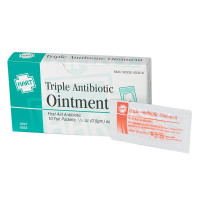Triple Antibiotic Ointment, 10 per box, .5gm