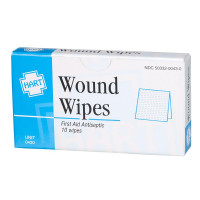 BZK Antiseptic Wipes, 10 wipes per box