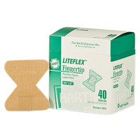 Fingertip Woven Adhesive Bandages, 40/BX