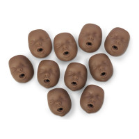 Kim / Kate Channel Mouth/Nose Piece - Package of 10 - Dark Skin