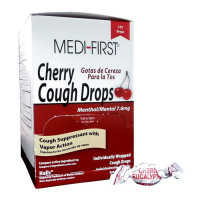 Cough Drops, Cherry - 125 per box