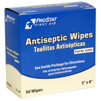 Antiseptic Wipes, 50 Per Box