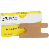 Knuckle Adhesive Bandages, Woven, 8 per box