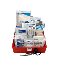 First Responder Kit, Small 98 Piece Plastic Case