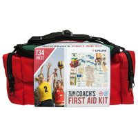 Lifeline First Aid TEAM SPORT COACH'S KIT - Sports First Aid Kit / First Aid Bag for Sports