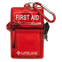 LifeLine First Aid WATERPROOF FIRST AID KIT for Water, Snow, and the Outdoors
