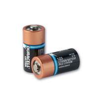 Type 123 Duracell Lithium Batteries, pack of 10