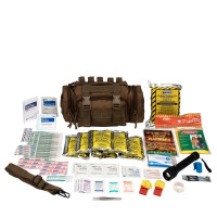 Emergency Preparedness, 1 Person, Tan Fabric Bag