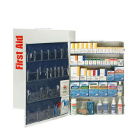 5 Shelf First Aid ANSI B+ Metal Cabinet, with Meds