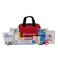25 Person First Aid Kit, ANSI A, Fabric Case