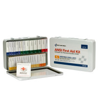 36 Unit First Aid Kit, ANSI A+,  Metal Case