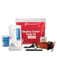 Bleeding Control  Triage Kit - Superior, Plastic Bag