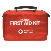 American Red Cross Deluxe Family First Aid Kit - 115 Piece Large Soft-sided Kit