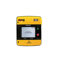 LIFEPAK 1000 Defibrillator – Graphical Display, case, battery, electrodes
