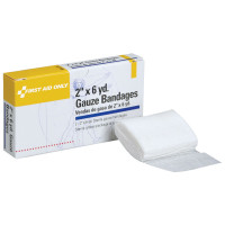 "Gauze Bandage, Sterile, 2""x 6 yd. - 2 per box"
