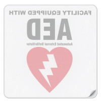 Facility AED Decal