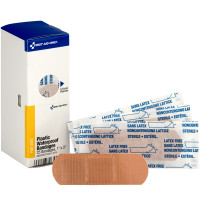 "1"" X 3"" Adhesive Plastic Waterproof Bandages, 25 Per Box"