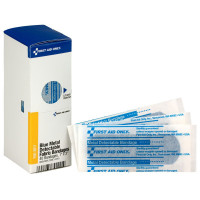 "1"" X 3"" Blue Metal Detectable Bandages, 40 Per Box"