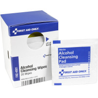 Alcohol Cleansing Wipes, 20 each