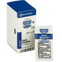 Antiseptic Hand Sanitizer Pack, 10 each
