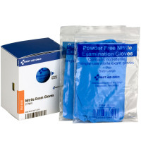 Nitrile Gloves, 2 pairs each