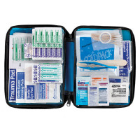 All Purpose First Aid Kit, Softsided, 200 pc - Medium