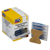 Fingertip Bandage, Fabric - 100 per box