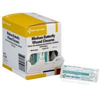 Butterfly Wound Closure, Medium - 100 per box