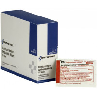 Povidone-Iodine Infection Control Wipe - 50 per box