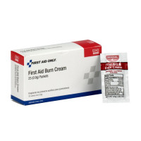 First Aid/Burn Cream, .9 gm. - 25 per box