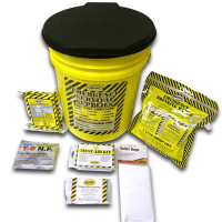 Economy Emergency Kit - 1 Person - Honey Bucket