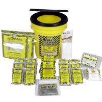 Economy Emergency Kit - 2 Person - Honey Bucket
