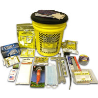 2 Person Deluxe Emergency Honey Bucket Kit