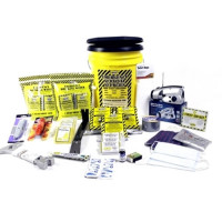 3 Person Deluxe Emergency Honey Bucket Kit