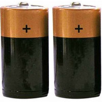 D Size Batteries 1 Pair