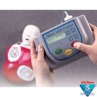 Nasco Life/form AED Trainer with Basic Buddy CPR Manikin